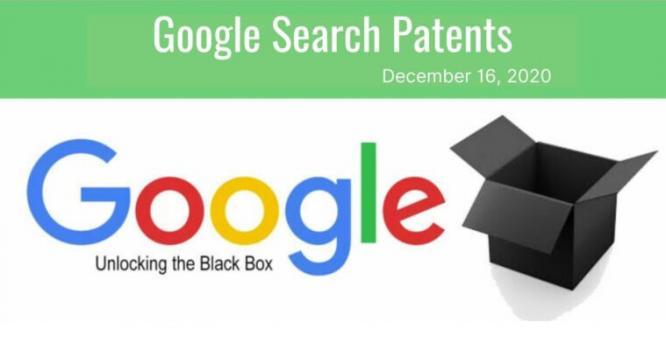 Google Search Patent Update